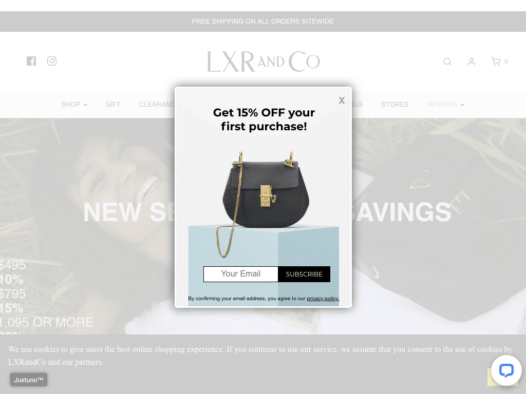 LXR & Co. coupon codes