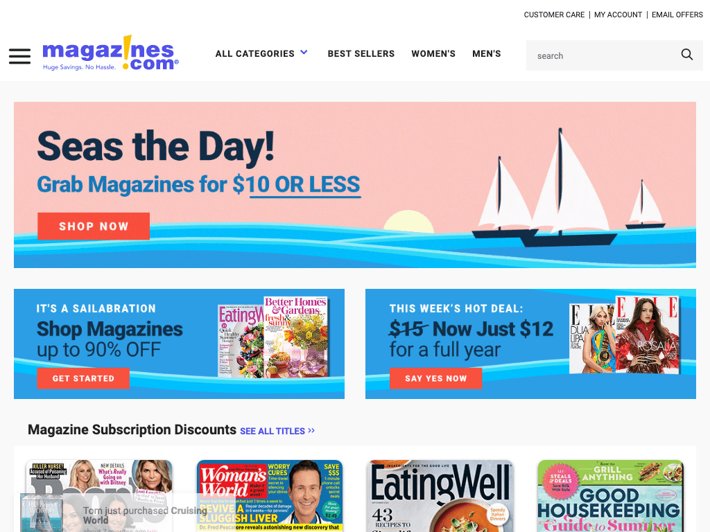 Magazines.com, Inc. coupon codes