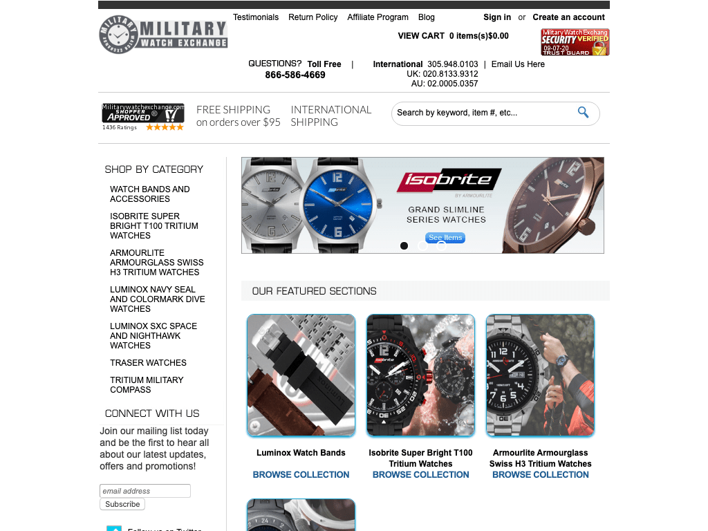 militarywatchexchange coupon codes