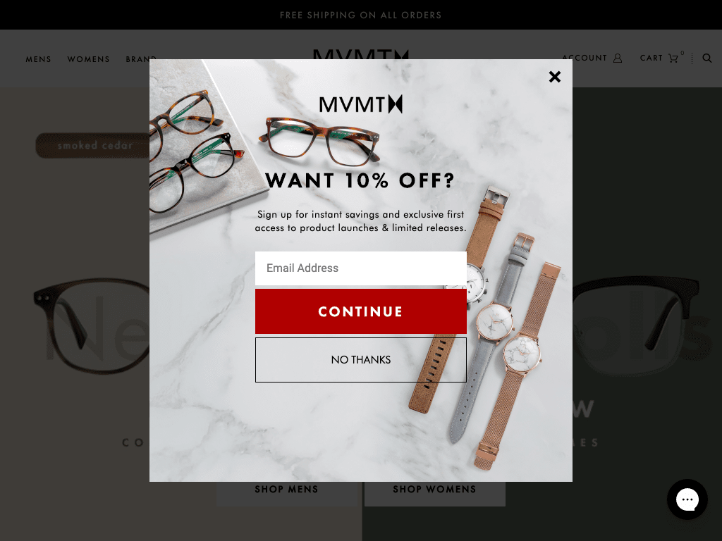 MVMT Watches coupon codes