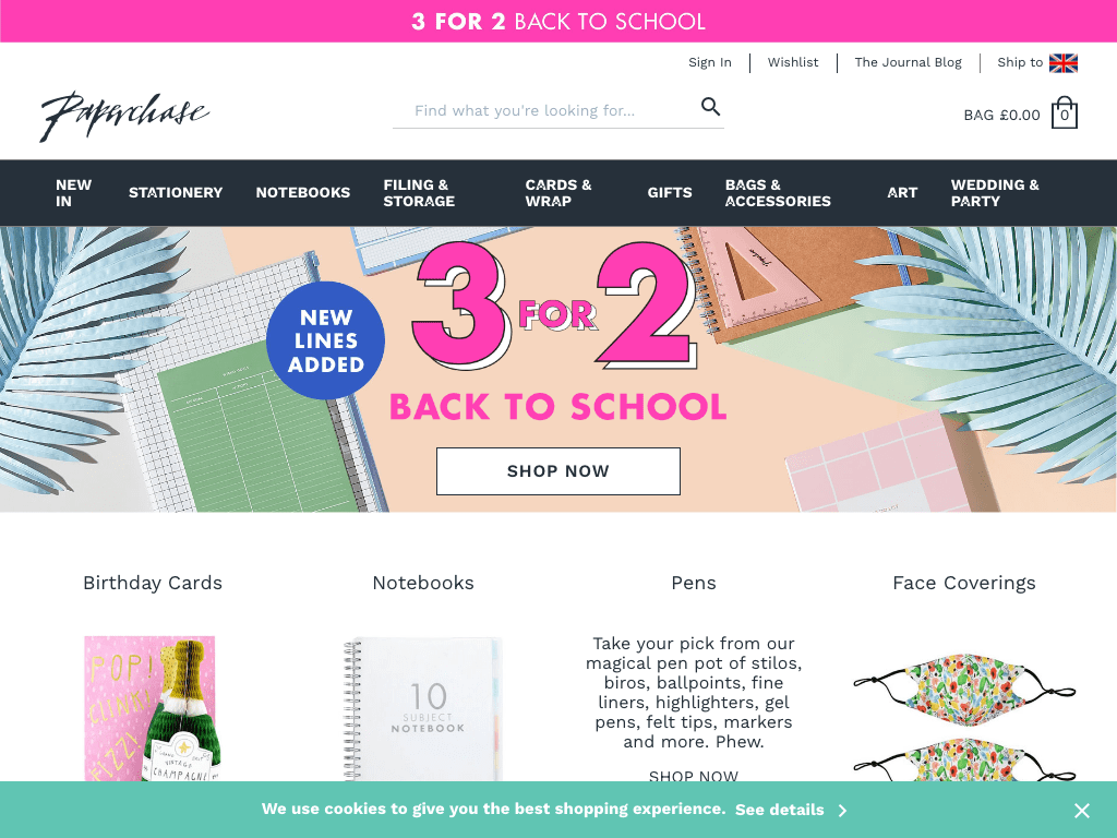 Paperchase coupon codes