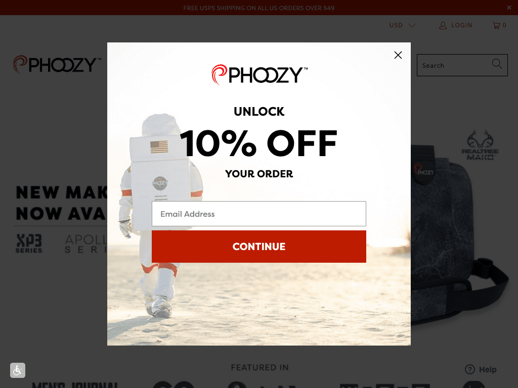 PHOOZY coupon codes