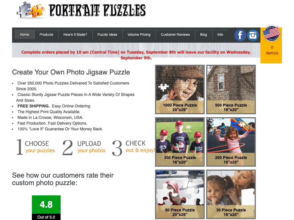 Portrait Puzzles coupon codes