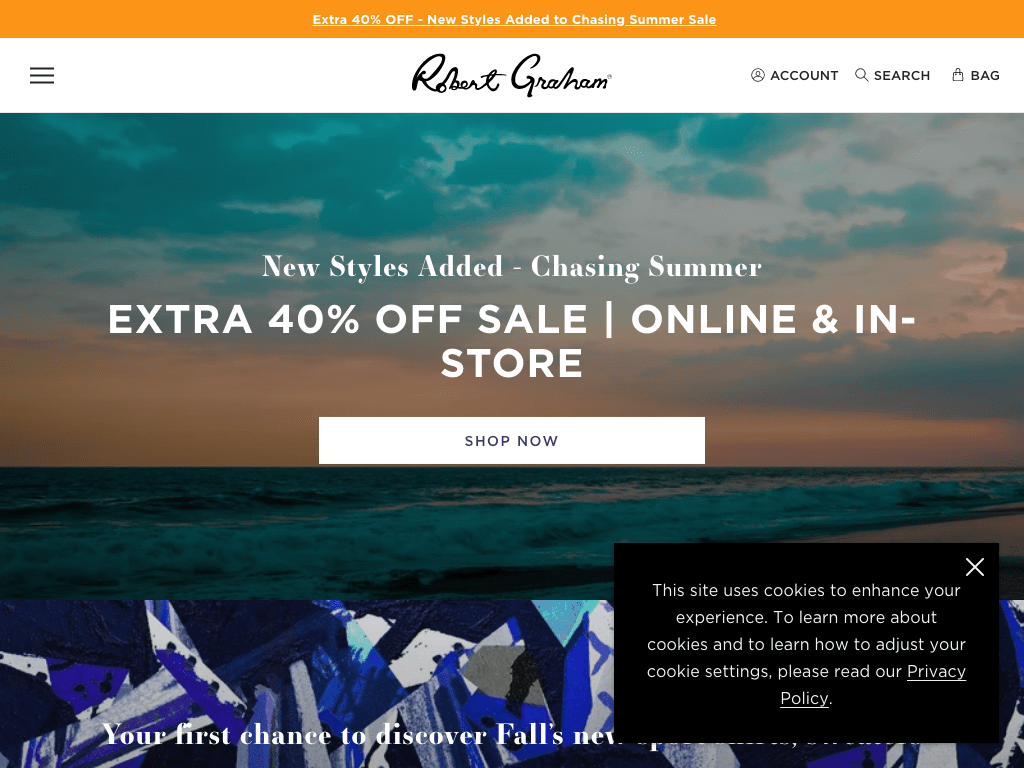 Robert Graham coupon codes
