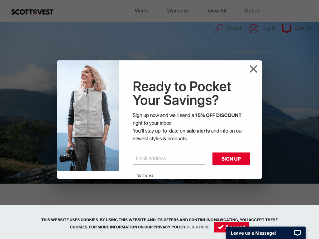 Scottevest coupon codes