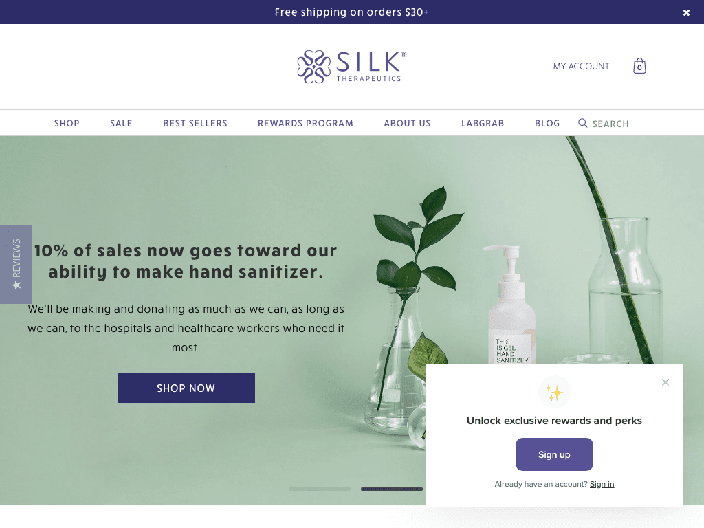 Silk Therapeutics coupon codes