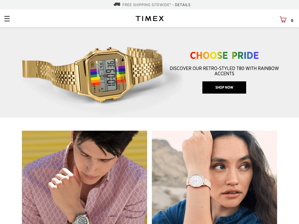 TIMEX coupon codes