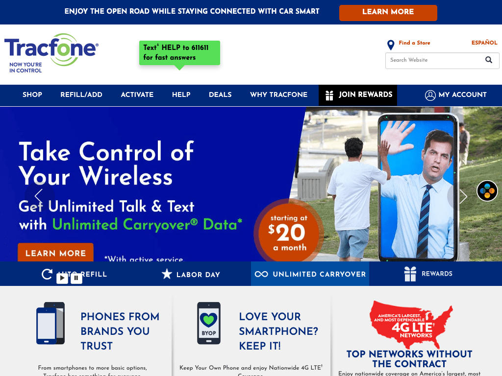 Tracfone Wireless, Inc. coupon codes