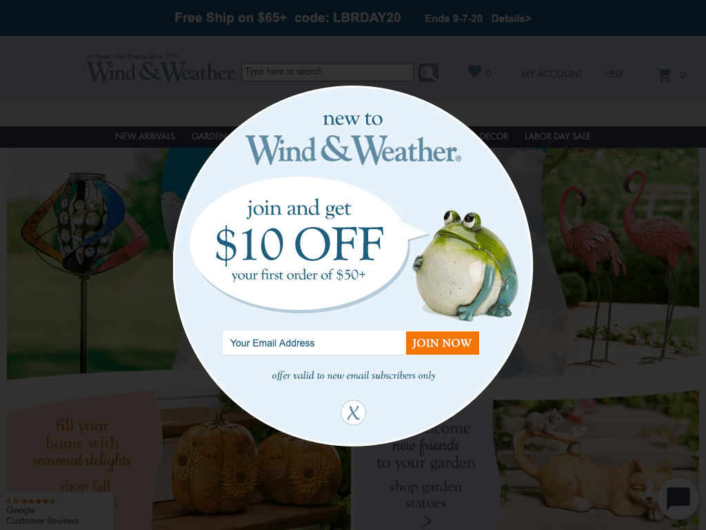 Wind and Weather coupon codes