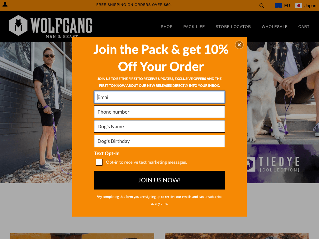 wolfgangusa coupon codes