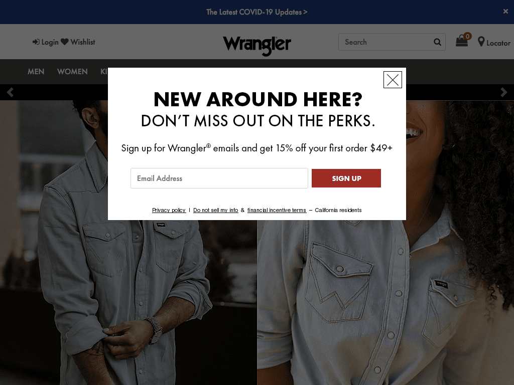 Wrangler coupon codes